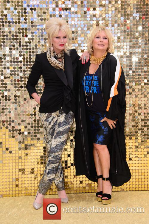 Jennifer Saunder and Joanna Lumley 2