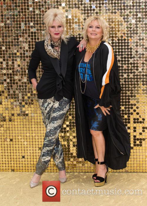 Jennifer Saunders and Joanna Lumley 5