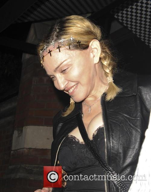 Madonna At Chiltern Firehouse