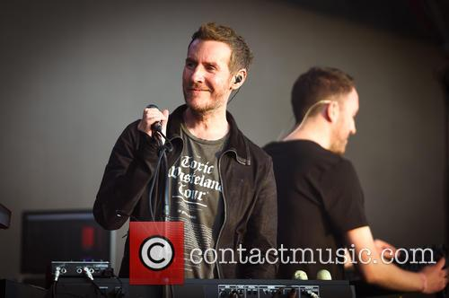 Massive Attack performs at British Summer Time festival