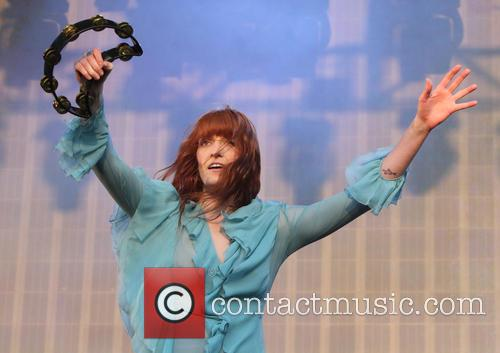 Florence + The Machine, The Machine and Florence Welch 1