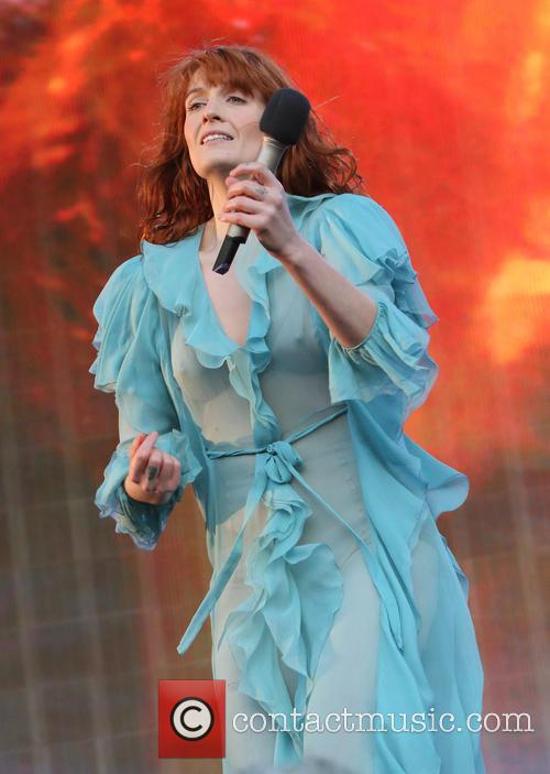 Florence + The Machine, The Machine and Florence Welch 6