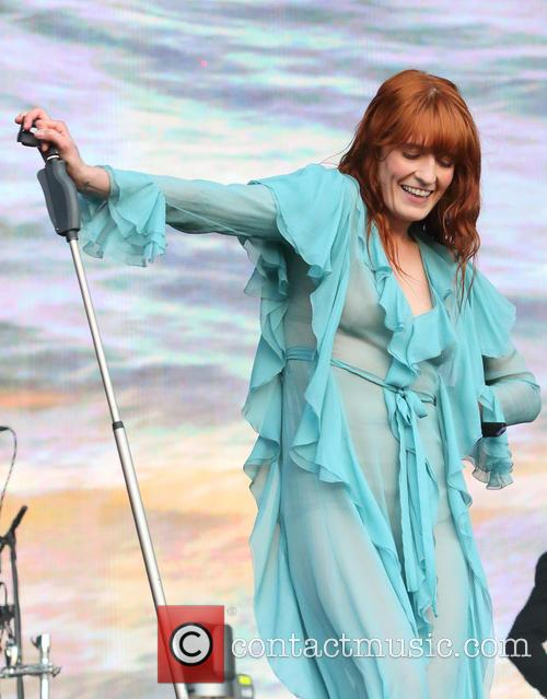 Florence + The Machine, The Machine and Florence Welch 8