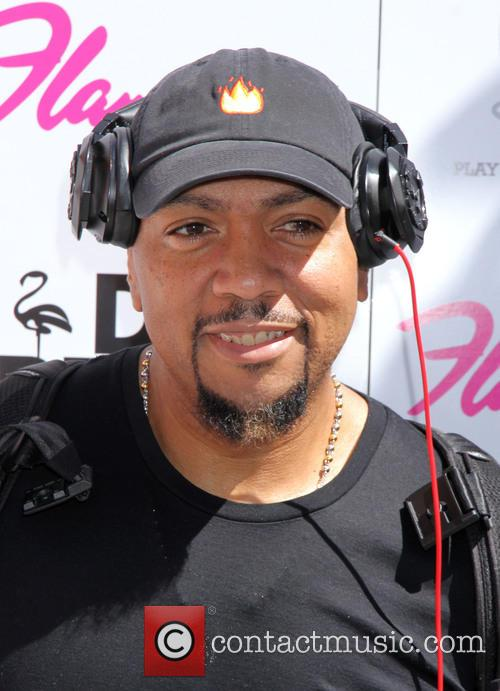 Timbaland performs at Go Pool  Las Vegas