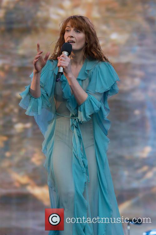 Florence and the Machine performing at BST Hyde Park
