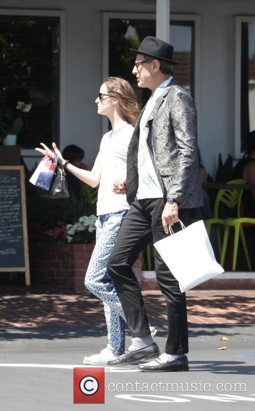 Jeff Goldblum and Emilie Livingston 7