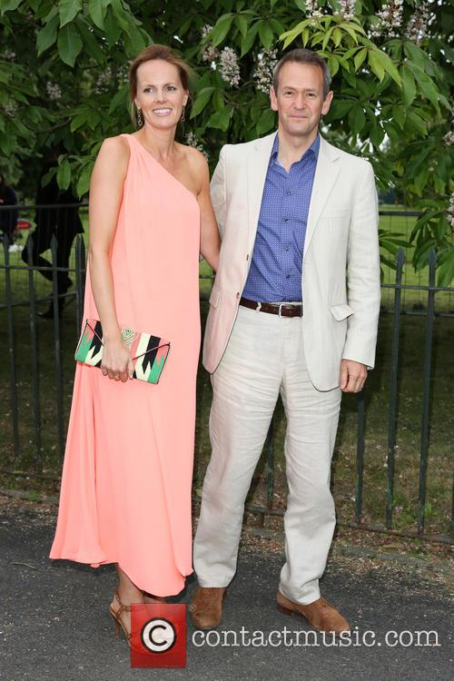 Alexander Armstrong and Hannah Bronwen Snow