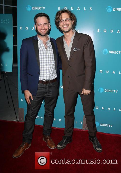 Matthew Gray Gubler and Brian Levin 8