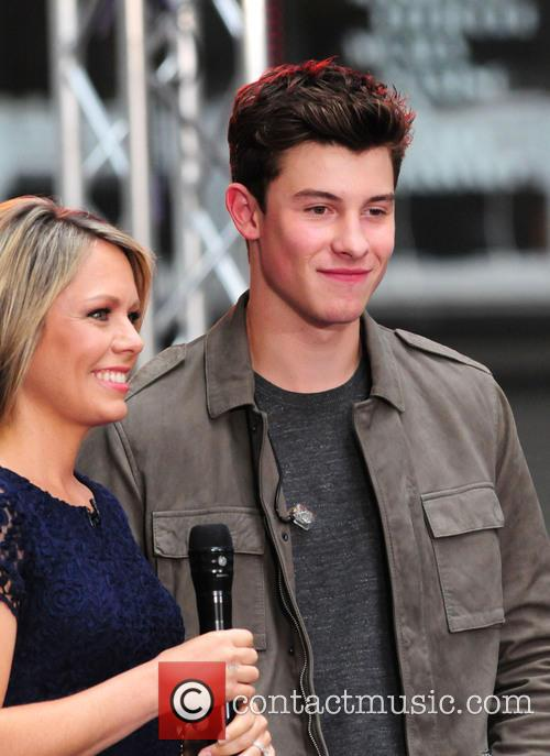 Dylan Dreyer and Shawn Mendes 1