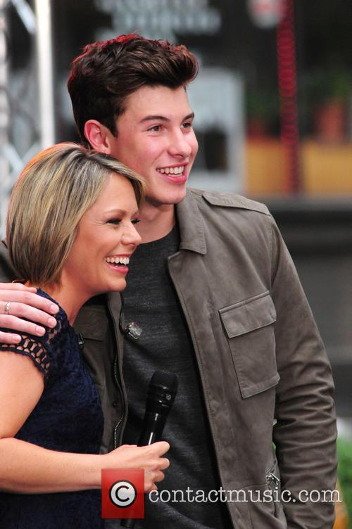 Dylan Dreyer and Shawn Mendes 2