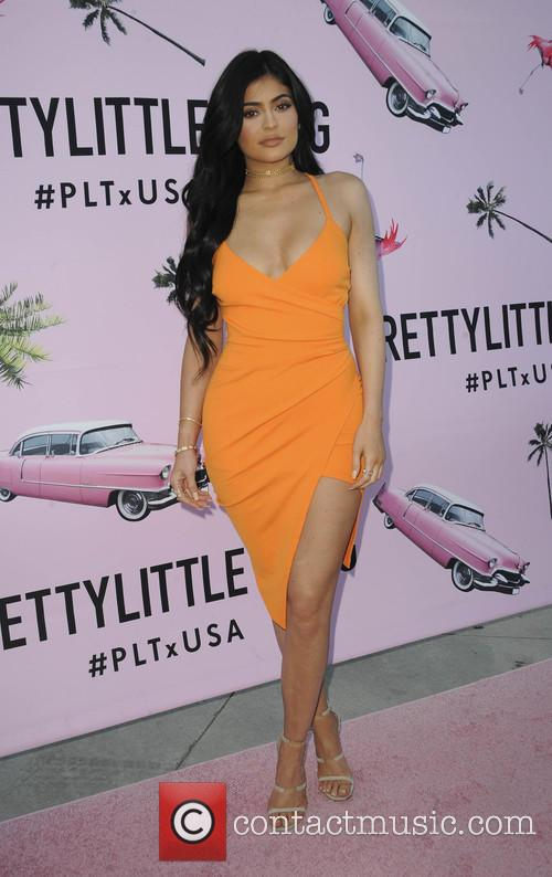 Kylie Jenner at PrettyLittleThing launch party