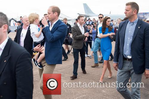 Prince George, Prince William, The Duke Of Cambridge and The Duchess Of Cambridge 2