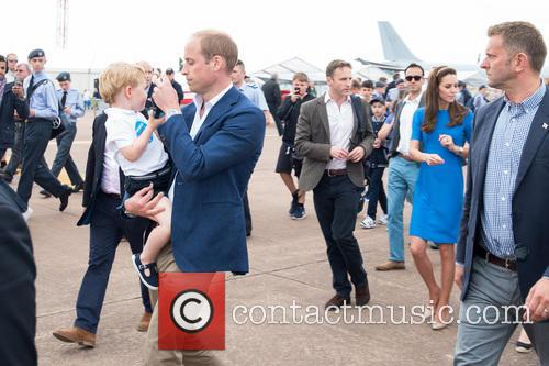 Prince George, Prince William, The Duke Of Cambridge and The Duchess Of Cambridge 4