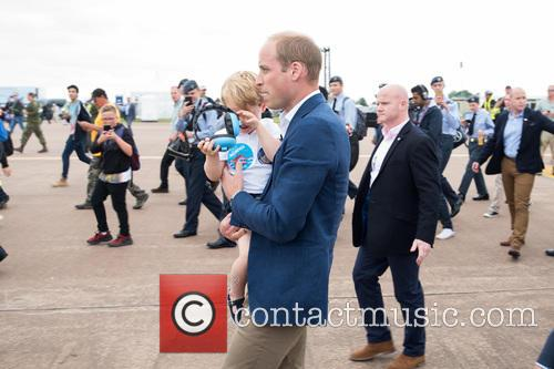 Prince George, Prince William and The Duke Of Cambridge 8