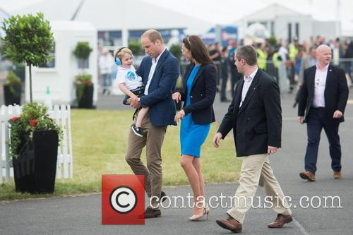 Prince George, Prince William, The Duke Of Cambridge and The Duchess Of Cambridge 11