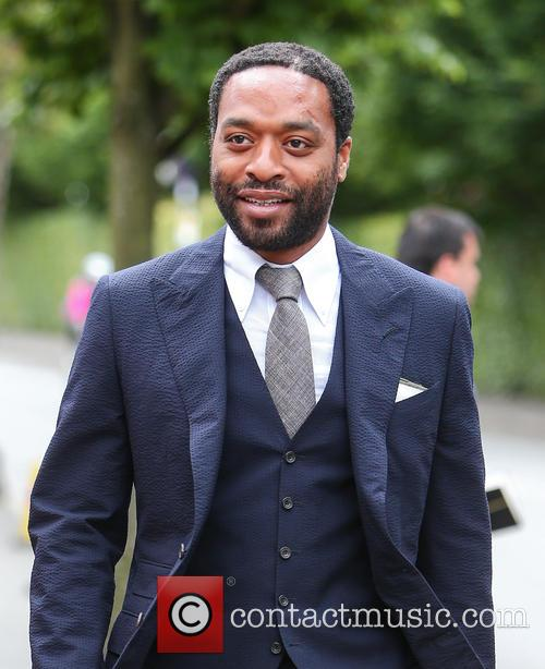 Chiwetel Ejiofor arriving at Wimbledon