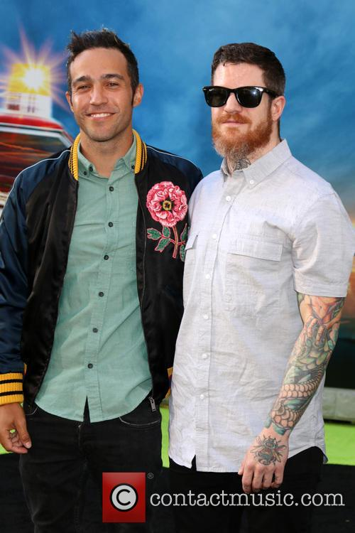 Pete Wentz and Andy Hurley 4