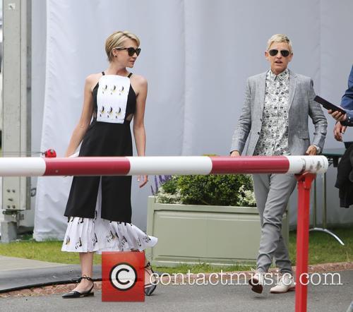 Ellen Degeneres and Portia Dirossi 1