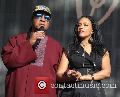 Stevie Wonder and Wayna Wondwossen 1