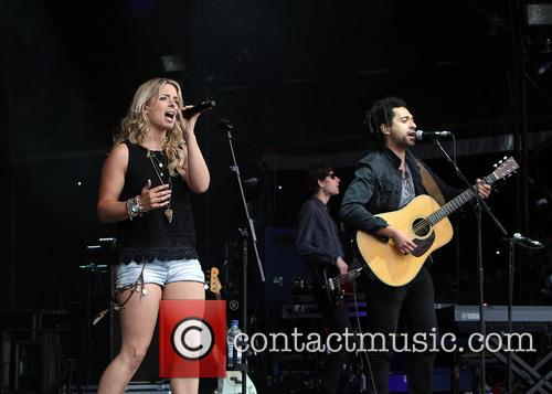 The Shires, Ben Earle and Crissie Rhodes 2