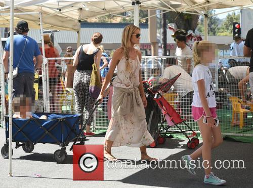 Denise Richards, Lola Rose Sheen and Eloise Joni Richards 4
