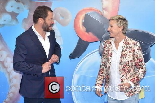 Dominic West and Ellen Degeneres 5