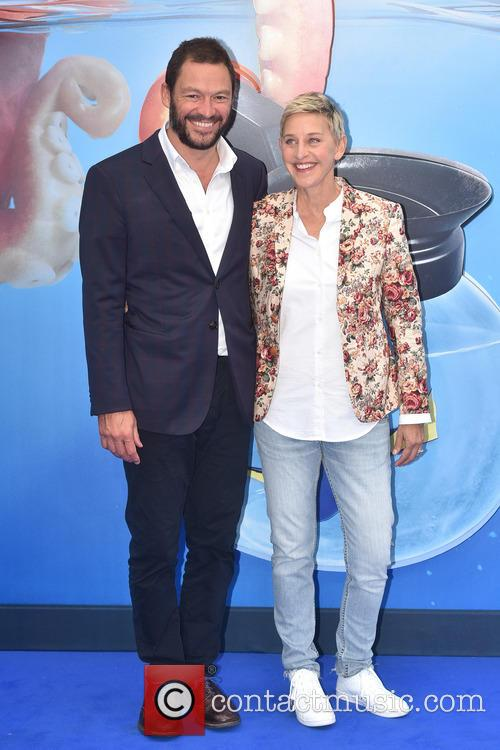 Dominic West and Ellen Degeneres 6
