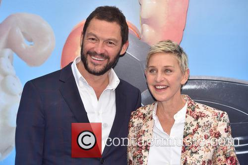 Dominic West and Ellen Degeneres 7