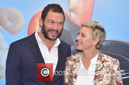 Dominic West and Ellen Degeneres 8