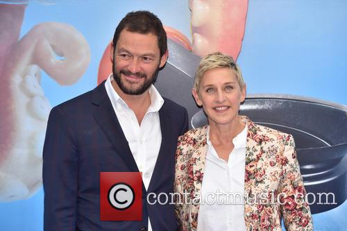 Dominic West and Ellen Degeneres 9