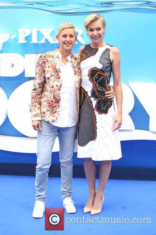 Ellen Degeneres and Portia De Rossi 5