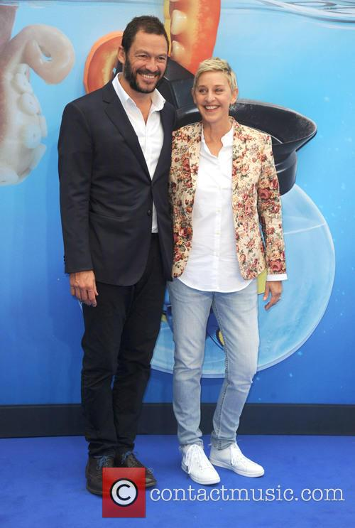 Ellen Degeneres and Dominic West 4