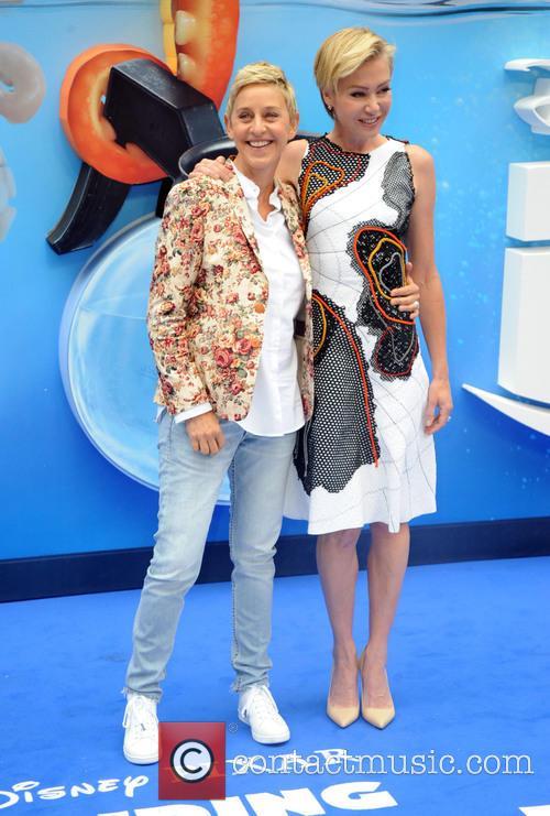 Ellen Degeneres and Portia De Rossi 1