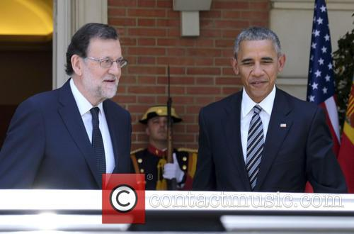 President Barack Obama and Mariano Rajoy 4
