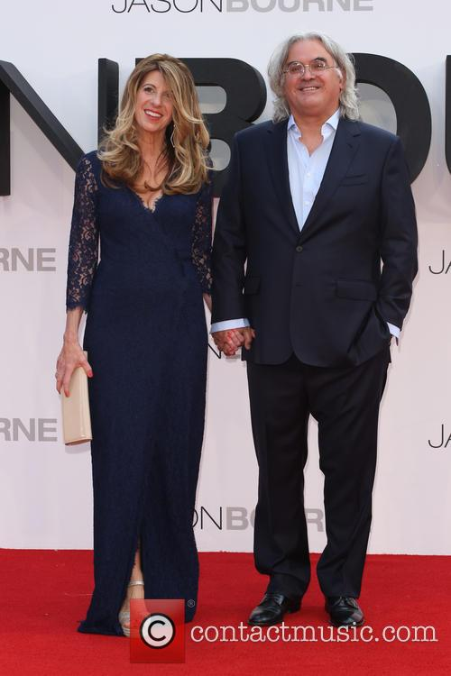 Paul Greengrass and Wife Joanna