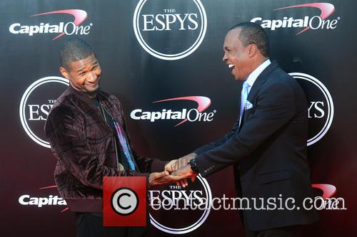 Usher and Sugar Ray Leonard 3