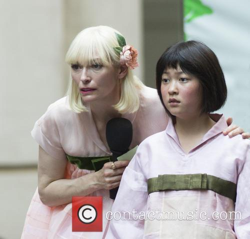 Seo-hyeon Ahn and Tilda Swinton 2
