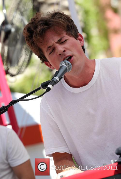 Charlie Puth performs at GO Pool