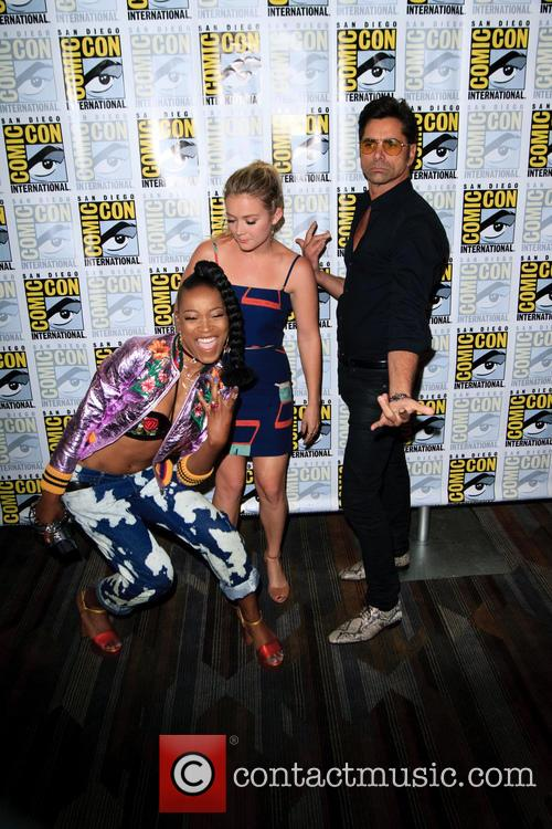 Keke Palmer, Billie Lourd and John Stamos