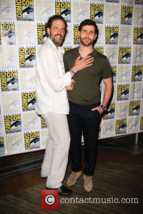 Silas Weir Mitchell and David Giuntoli 3