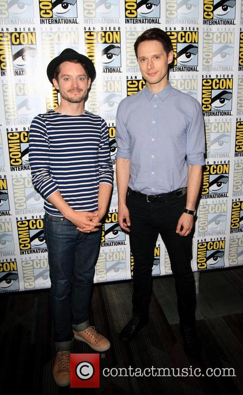 Elijah Wood and Samuel Barnett 4