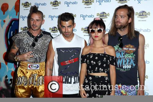 Dnce, Joe Jonas, Jack Lawless, Cole Whittle and Jinjoo Lee