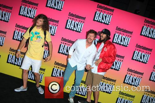 Anders Holm, Blake Anderson and Kyle Newacheck