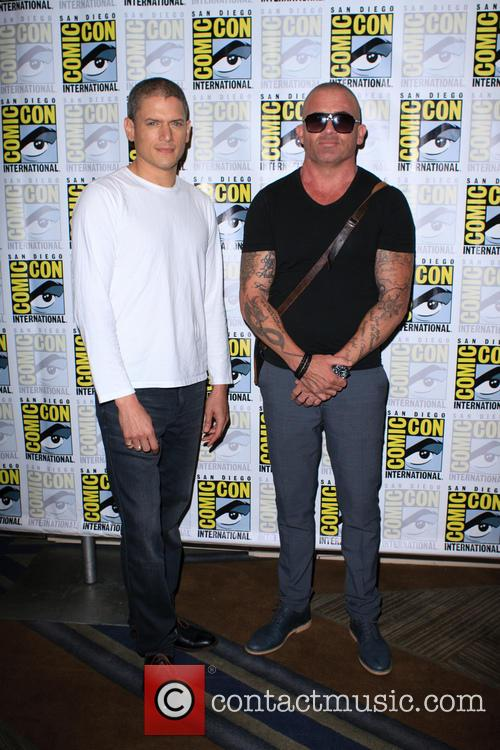 Wentworth Miller and Dominic Purcell 1