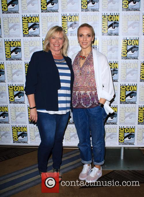 Amanda Abbington and Sue Vertue