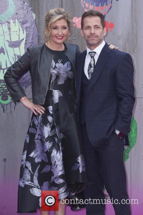Deborah and Zack Snyder at 'Suicide Squad' premiere