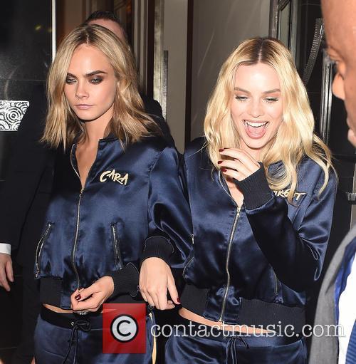 Cara Delevingne and Margot Robbie 3