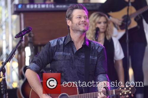 Blake Shelton performs live on the 'Today Show'