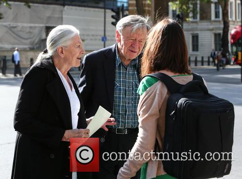 Vanessa Redgrave and Lord Alfred Dubs 3