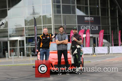 Mark Webber and Shane Lynch 2